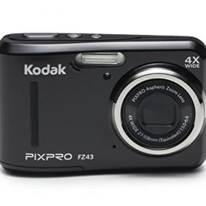 Kodak-PIXPRO-Friendly-Zoom-FZ43-16-MP-Digital-Camera-with-4X-Optical-Zoom-and-27-LCD-Screen-Black-0